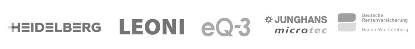 logos kunden planta heidelberg leonie eq3 junghans drv